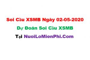 Soi cầu XSMB ngày 02-05–2020