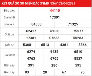 Soi cầu XSMB ngày 04-04-2021
