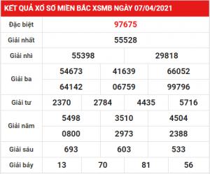 Soi cầu XSMB ngày 08-04-2021